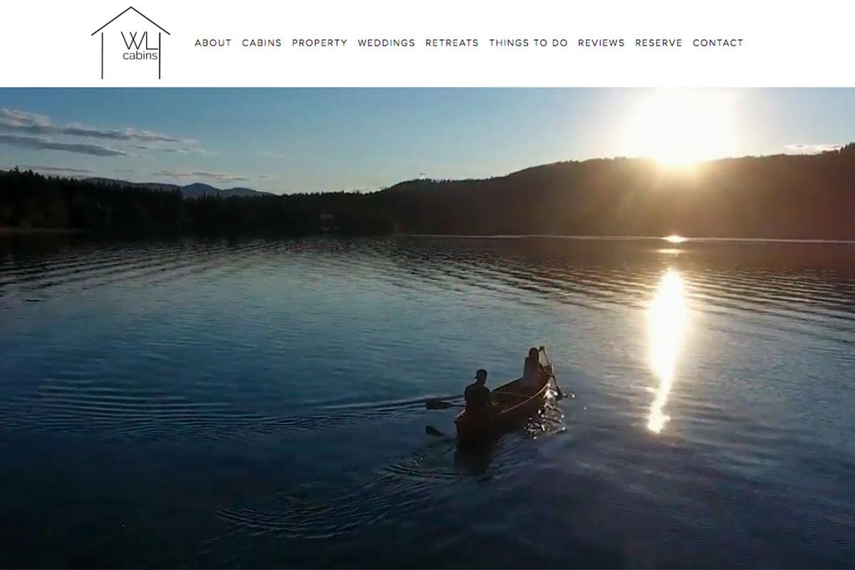 Whitel Lake Cabins in British Columbia